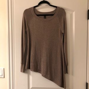 NWOT INC long sleeve sparkly top size M.